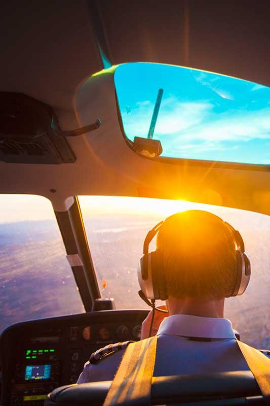 Transporte Executivo de Helicóptero